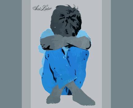 niño traumado