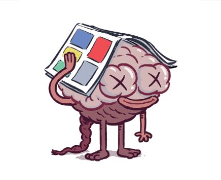 cerebro desbordado