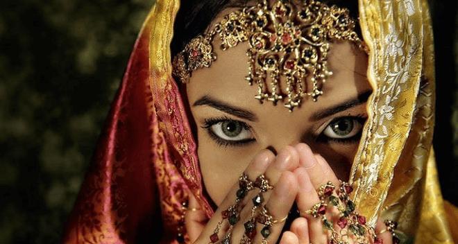 Mirada mujer Indu
