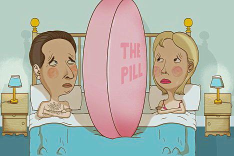 píldora anticonceptiva afecta al deseo sexual