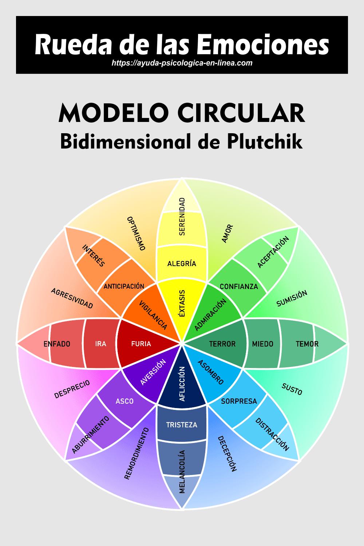 Infografía Rueda de las Emociones 2D