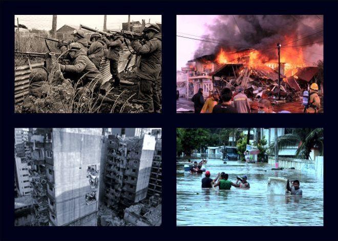 Crisis condiciones externas