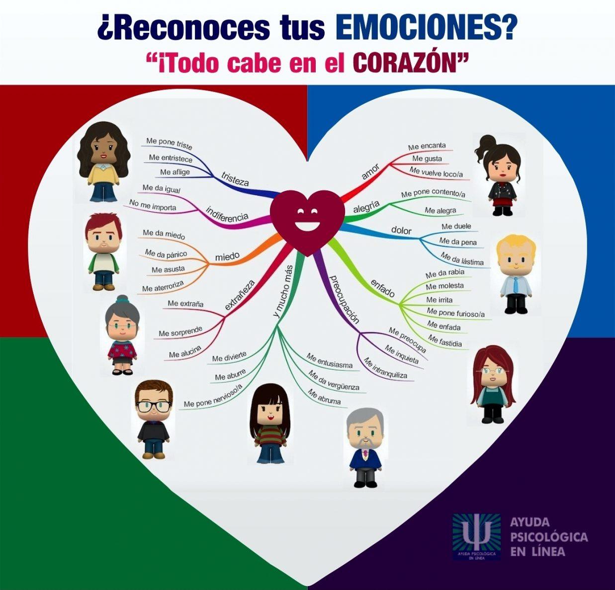 Infografia reconoces tus emociones