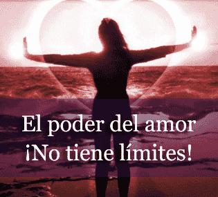 Frase: amar no tiene límites