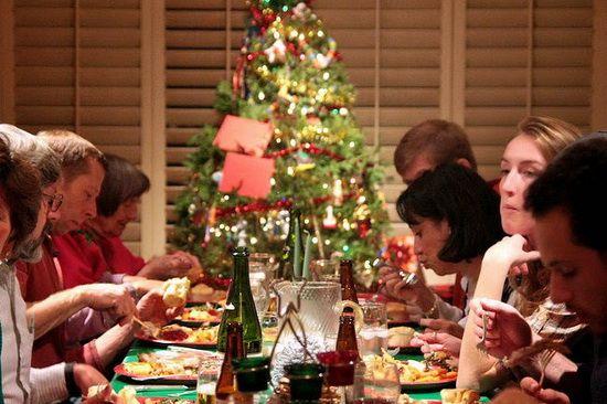 comer en exceso en navidad