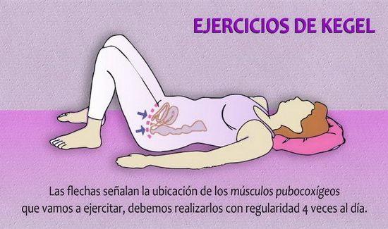 ejercicios kegel postura ejemplo
