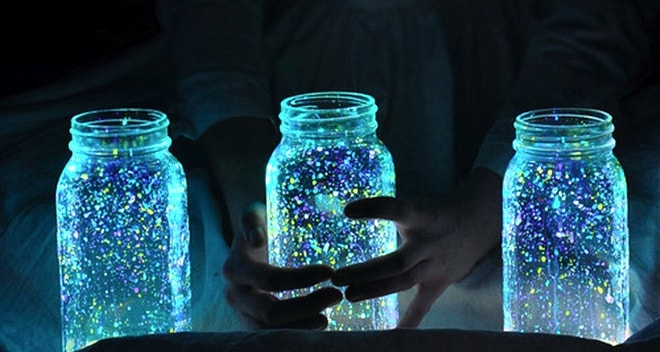 frascos luz