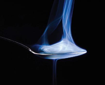 efectos del cristal cuchara