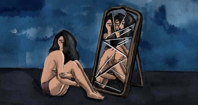 autoimagen corporal distorsionada