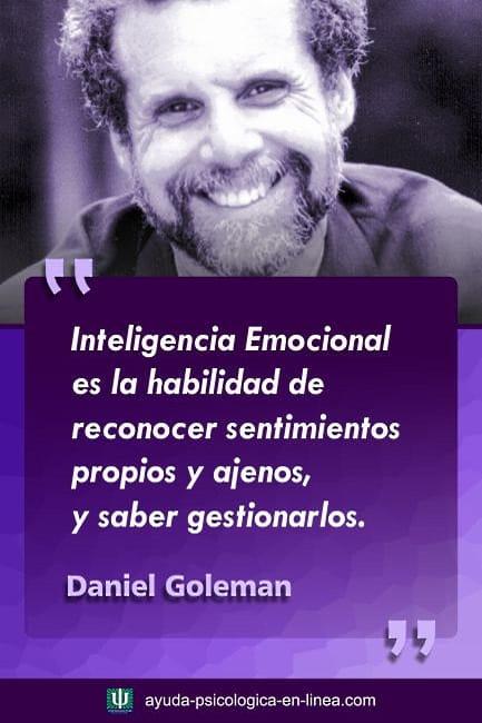 Frase Goleman reconocimiento emociones