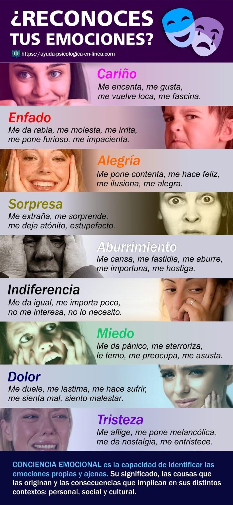 Infografia conciencia emocional