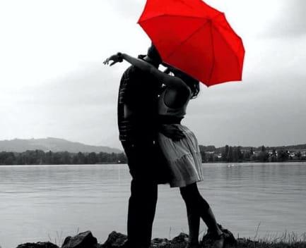 pareja amorosa
