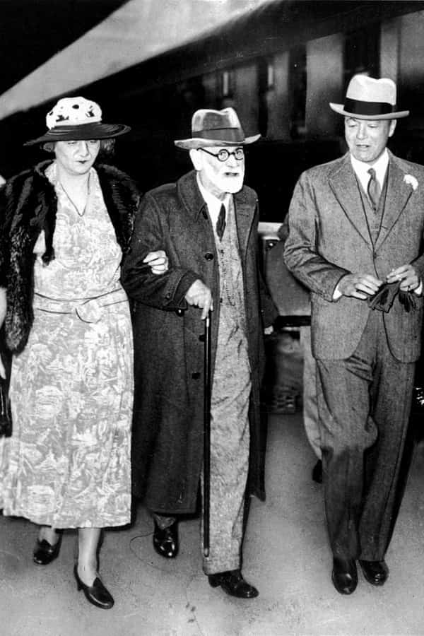 Marie Bonaparte, Sigmund Freud y William C. Bullitt