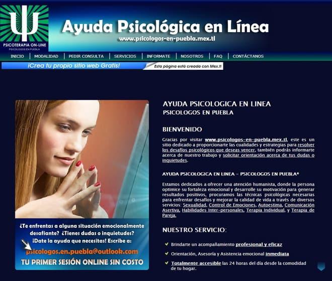 proyecto web ayuda psicologica por karlos betancurt