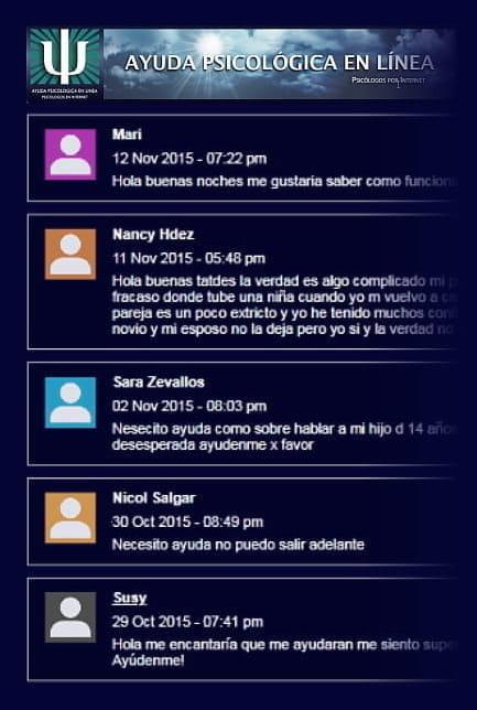 historia web ayuda psicologica 2015