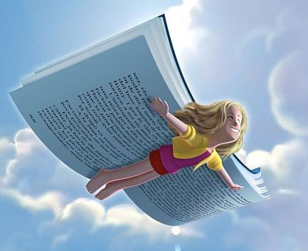 libro volando