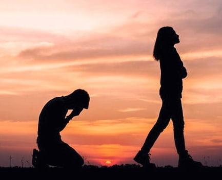 decepción amorosa atardecer