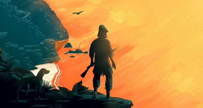 Resumen de Robinson Crusoe