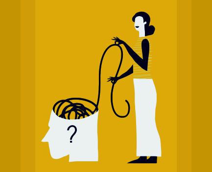 psicoterapeuta vector