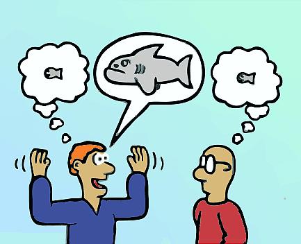 exageración - técnicas de terapia gestalt