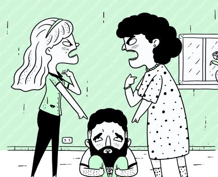 pelea con suegras tóxcias
