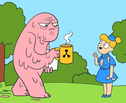 monstruo tóxico