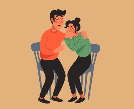 pareja empática
